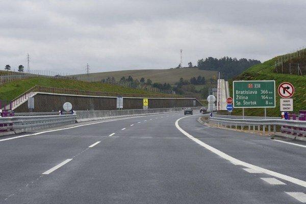Slávnostné otvorenie diaľnice D1 Jánovce - Jablonov, I. úsek.