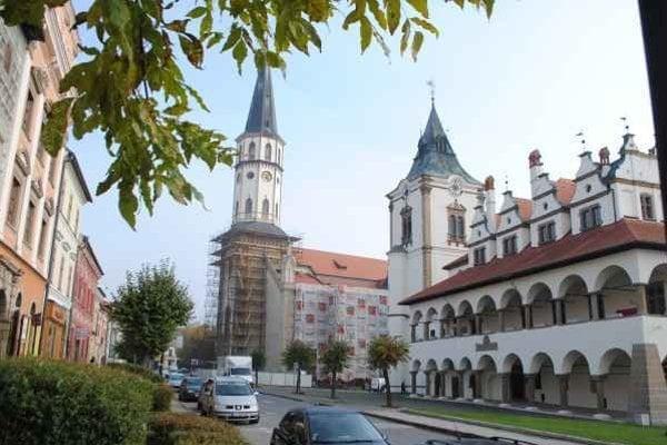 Kostol sv. Jakuba patrí medzi dominanty Levoče.
