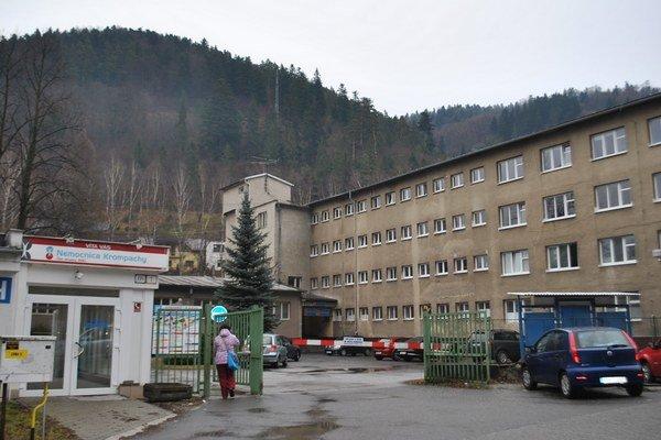 Nemocnica v Krompachoch. Zaznamenala babyboom.