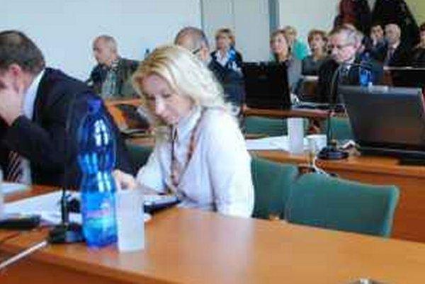 M. Kaľavská je mestskou poslankyňou v Spišskej Novej Vsi.