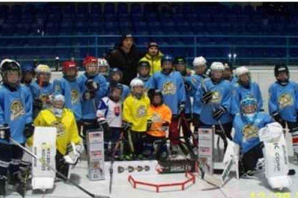 Malí bojovníci. Hokejová budúcnosť Spišskej Novej Vsi.