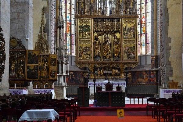 Levočský oltár.