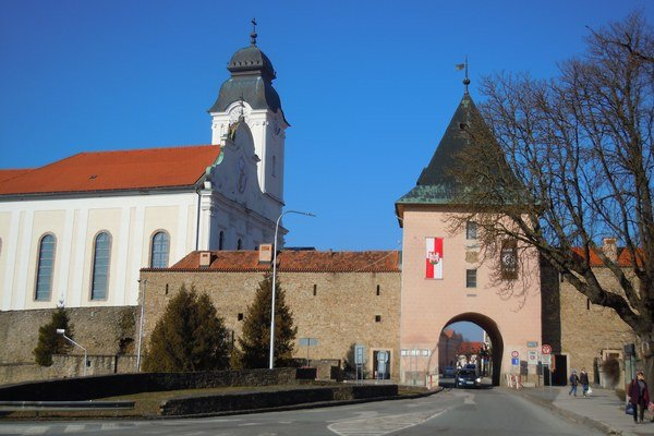 Košická brána. Ako súčasť fortifikačného systému Levoče.