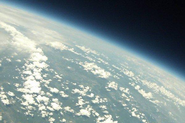 Jeden zo záberov sondy.