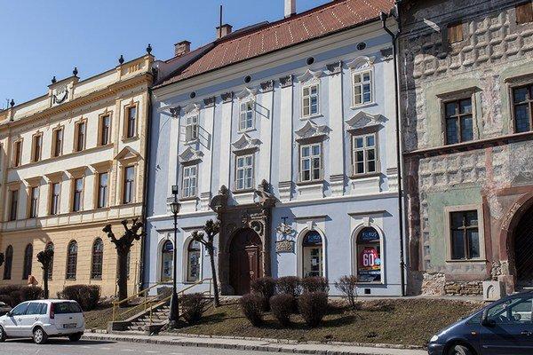 Mestská galéria v Levoči.