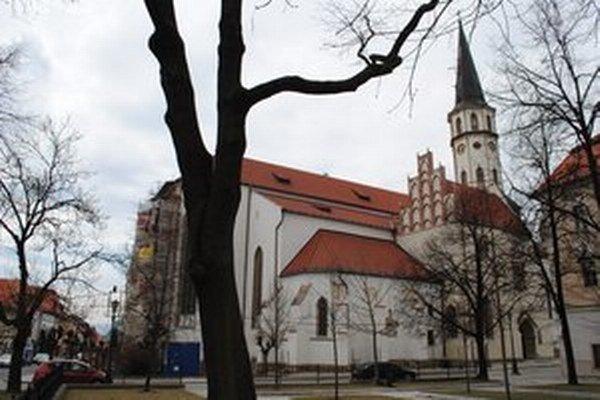Kostol sv. Jakuba v Levoči.