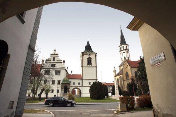 Historická časť Levoče.