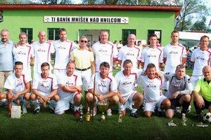 Víťazný tím spod Zobora. Hviezdne obsadené mužstvom 1. FK BMS Nitra dominoval na Spitzenberg Cupe.