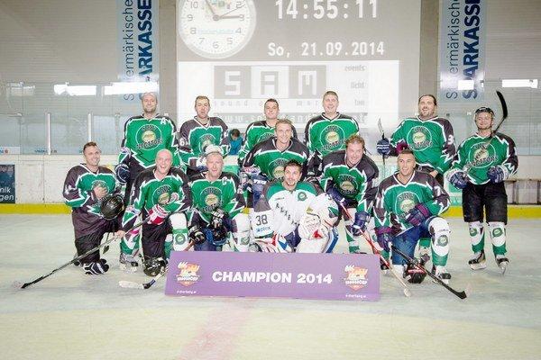 Víťaz turnaja. SKV Aligators – amatérsky klub zo Spiša príjemne prekvapil výsledkami z Rakúska.