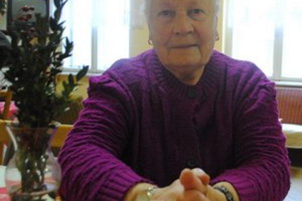 A. Vartovníková. Vianoce trávi u syna Stanislava.