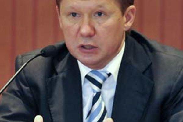 Šéf Gazpromu Aleksej Miller tvrdí, že Európa sa pred ruským plynom bráni neoprávnene.