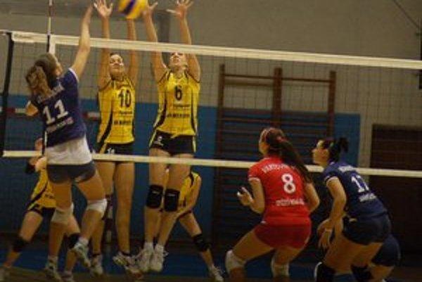 Piate víťazstvo. Po senzačnom výsledku v Pezinku v nedeľu Spišiačky v tréningovom tempe zdolali aj Žilinčanky.