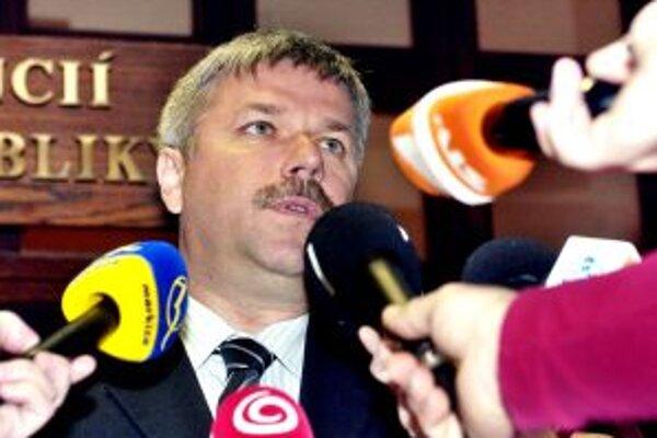 Guvernér NBS Ivan Šramko.