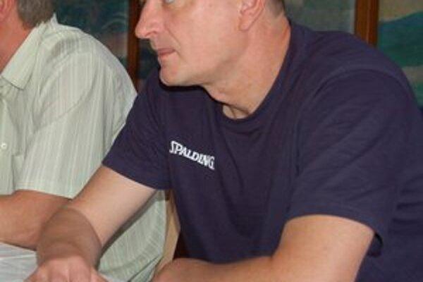 Letná príprava. Tréner Milan Černický je s ňou spokojný.