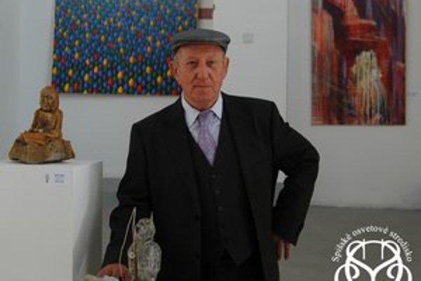 Tibor Gurin. Pri vystavovaných dielach.