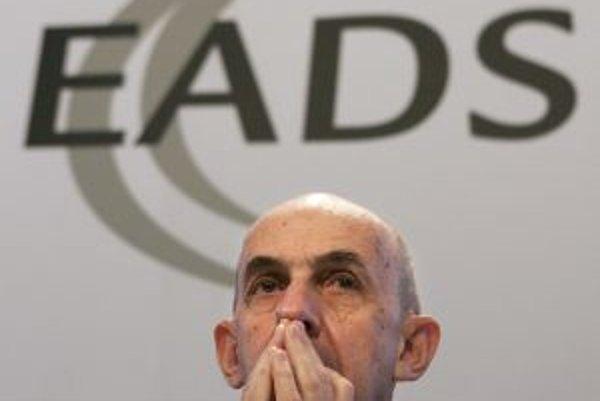 Výkonný riaditeľ EADS Louis Gallois.