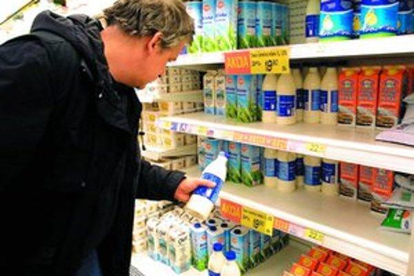 Niekoľkonásobné zvyšovanie cien mlieka a mliečnych výrobkov na svetových trhoch by sa na Slovensku nemalo prejaviť naplno.