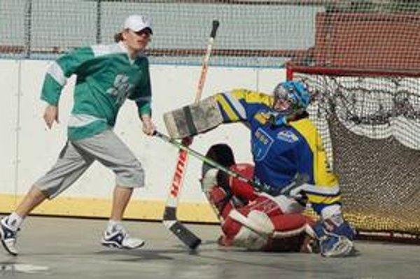Cez víkend bola na programe Mestská hokejbalová liga.