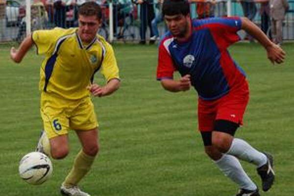 Neskóroval. Proti Margecanom najlepší strelec Richard Klubert (vľavo) gól nezaznamenal.