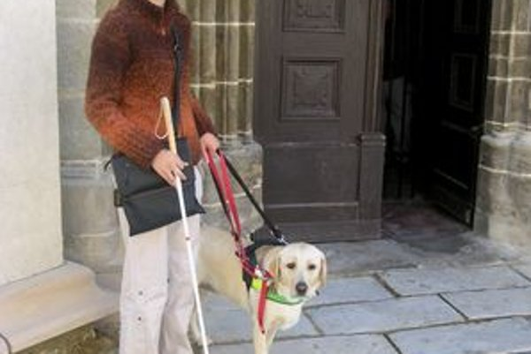 Do Chrámu sv. Jakuba nie. Levočský dekan zakázal vstup do kostola s vodiacim psom.
