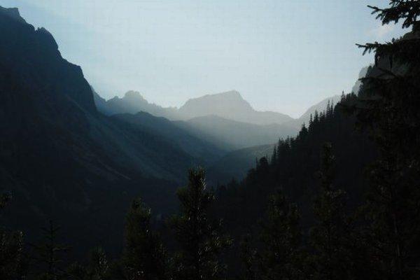 Veľká studená dolina.