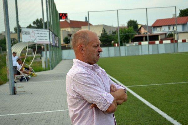 Tréner Spišskej Belej. Barnáš prežíval po zápase obrovské sklamanie.