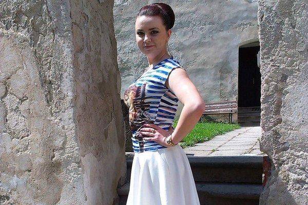 Barbora Thomayová. Na hrade sa potuluje už od detstva.