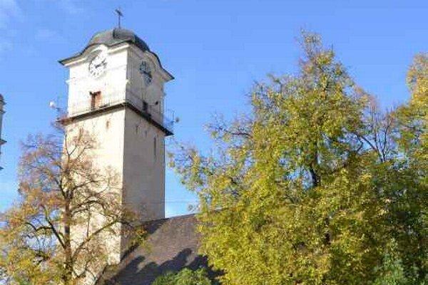 Kostol sv. Egídia. Budeme si z neho pozerať mesto?