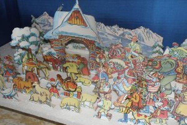 Vianoce v Hornonitrianskom múzeu ešte neskončili. Výstava papierových betlehemov je tam prístupná až do 20. januára.