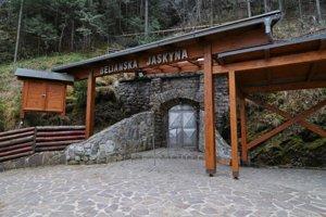 Belianska jaskyňa. Jediná prístupná jaskyňa vo Vysokých Tatrách.