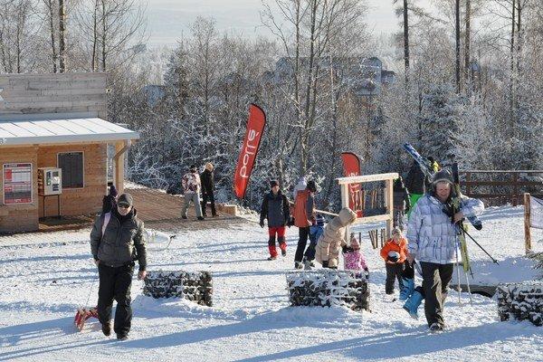 Pobyty sú každoročne vypredané. Aj kvôli silvestrovskej lyžovačke.