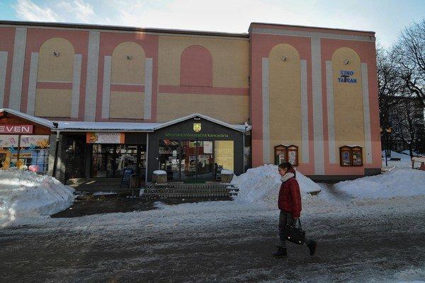 Kino Tatran je zatvorené od júla 2011.