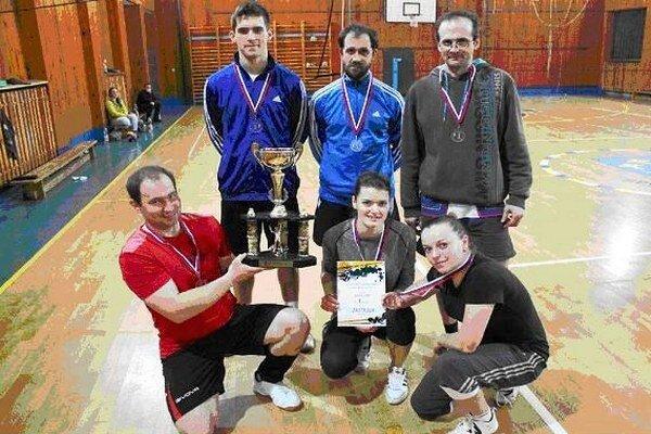 Družstvo Zastrova. Stalo sa víťazom turnaja.