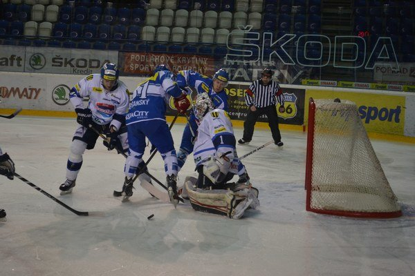 Autor hetriku. Lapšanský sa včera gólovo presadil hneď trikrát.