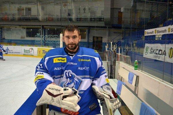 Edgars Masalskis proti Trenčínu raz inkasoval.