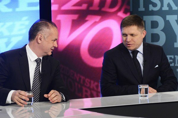 Kiska a Fico sa stretnú v druhom kole.