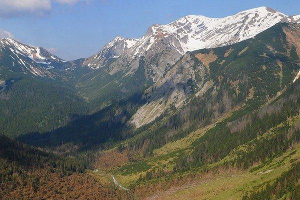 Tichá dolina je pre turistov stále neprístupná.