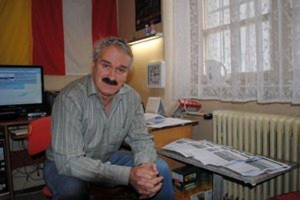 František Bednár. Vyzbieral už viac ako tisíc podpisov.