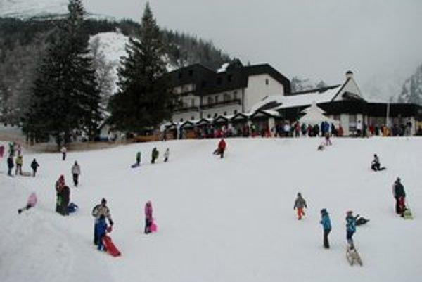V posledných rokoch výraznejšie vzrástol počet ťažkých úrazov na lyžiarskych svahoch.