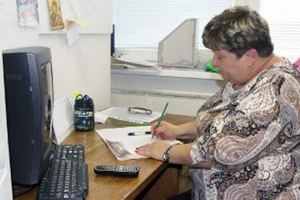Edita Flimelová je jednou z operátoriek Senior linky.