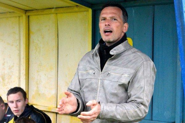 Pavol Kubičko. Po derby zápase mal viac dôvodov k radosti.