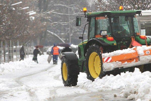 V Prievidzi bude zimnú údržbu zabezpečovať mestská spoločnosť.