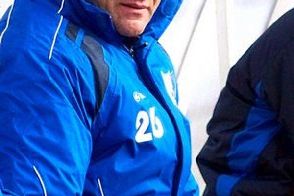 Tréner FK Poprad Vladimír Lajčák. Súčasný nelichotivý stav mu nie je ľahostajný.