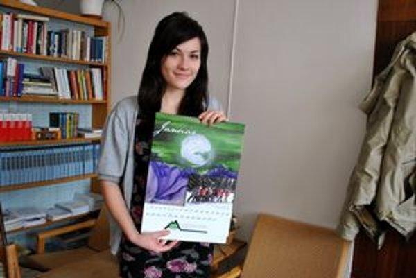 Nina Vojtaššáková. Kalendár je jej prvá veľká príležitosť.