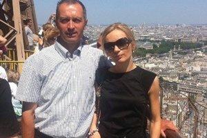 V Paríži s manželom