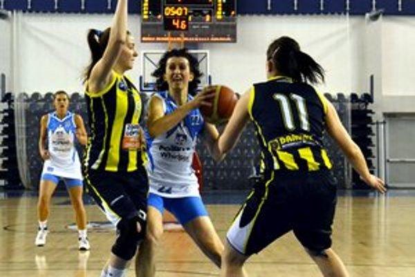 Katarína Poláková. Vrátila sa na basketbalové palubovky.