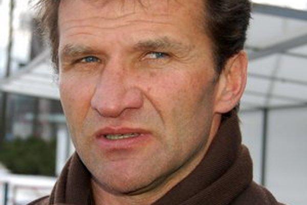 Vladimír Lajčák. Tréner FK Poprad spokojný nebol.