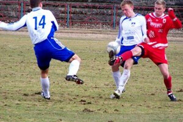 Filip Palutka. V zápase proti Kremničke bol oporou.