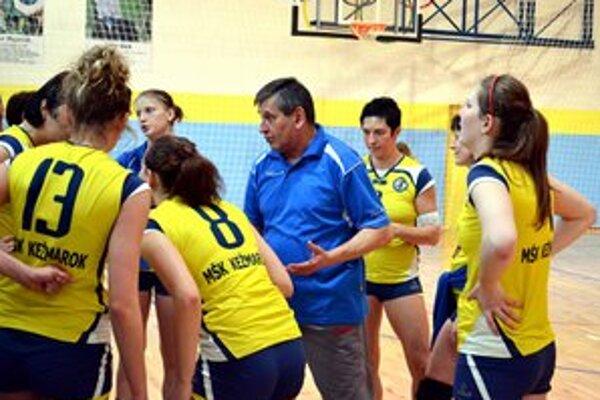 Chýba im urobiť posledný krok. Kežmarské volejbalistky čaká prelínací turnaj v Martine.