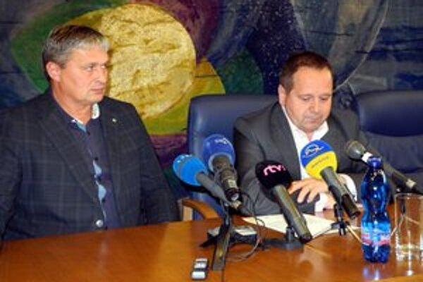 Tibor Turan (vľavo) a Anton Danko.